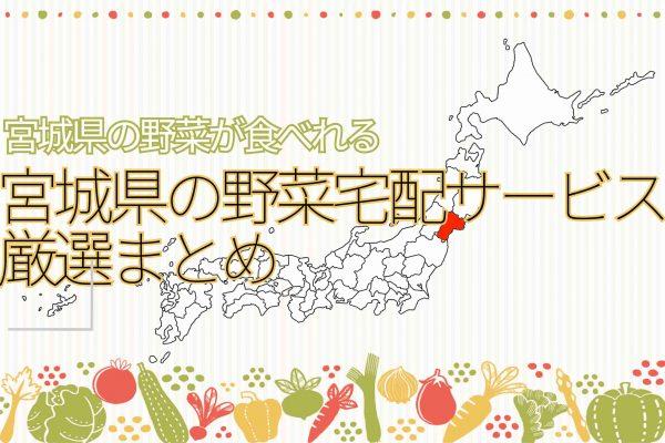 宮城県の野菜宅配サービスまとめ
