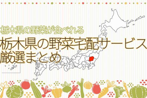 栃木県の野菜宅配サービスまとめ
