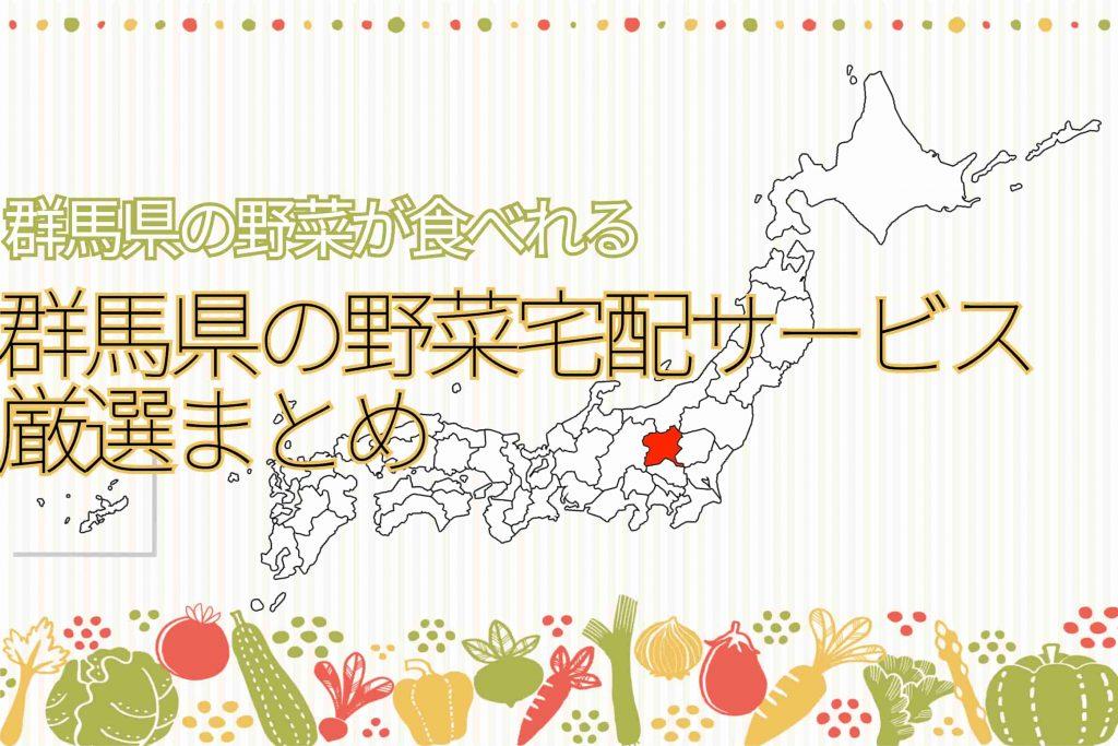 【厳選まとめ】群馬県の野菜宅配サービス16選!下仁田ねぎも食べれます!!